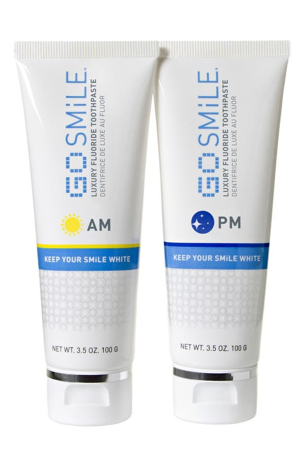 Alternate Image 1 Selected - GO SMiLE® A.M. & P.M. Luxury Toothpastes