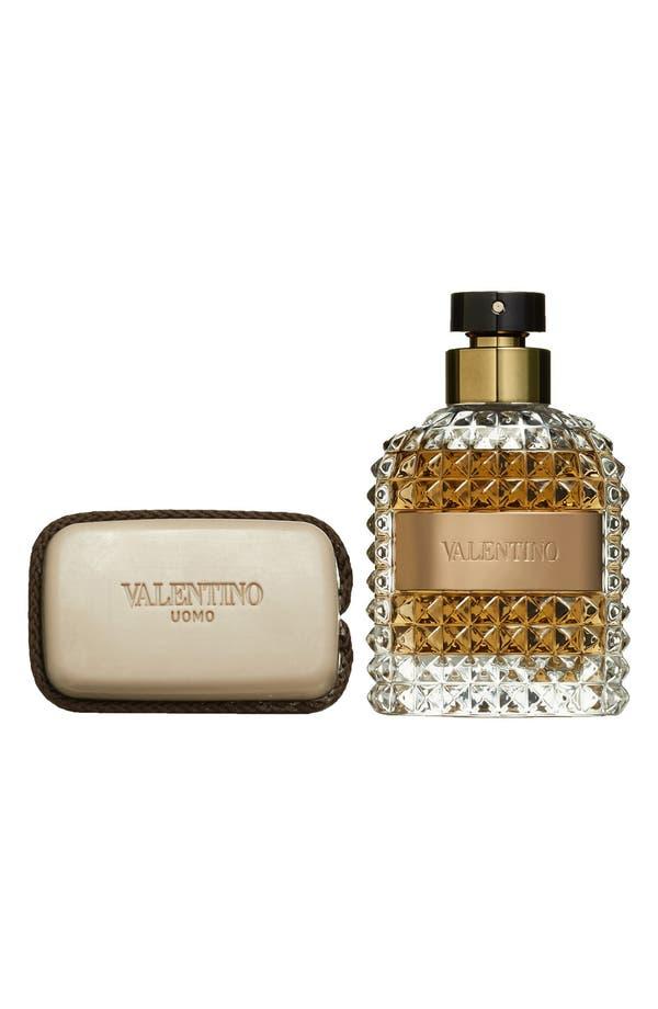 valentino uomo eau de toilette soap set nordstrom