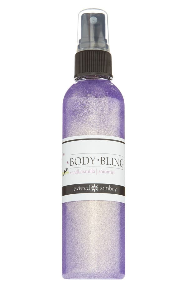 Alternate Image 1 Selected - Twisted Tomboy 'Body Bling' Shimmering Body Mist