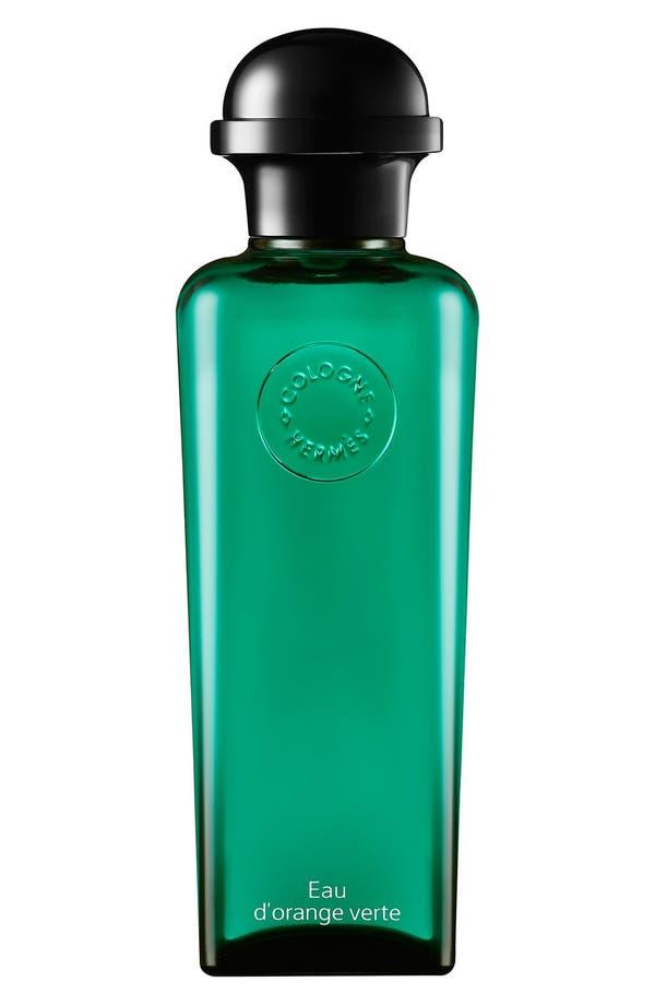 Main Image - Hermès Eau d'orange verte - Eau de cologne, bottle with pump