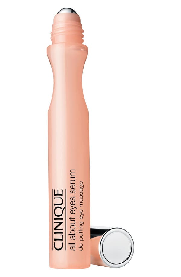 Alternate Image 1 Selected - Clinique 'All About Eyes Serum' De-Puffing Eye Massage