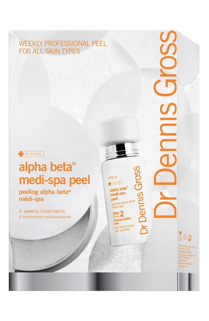 Dr Dennis Gross Skincare Alpha Beta 174 Medi Spa Peel 4 Pack Nordstrom