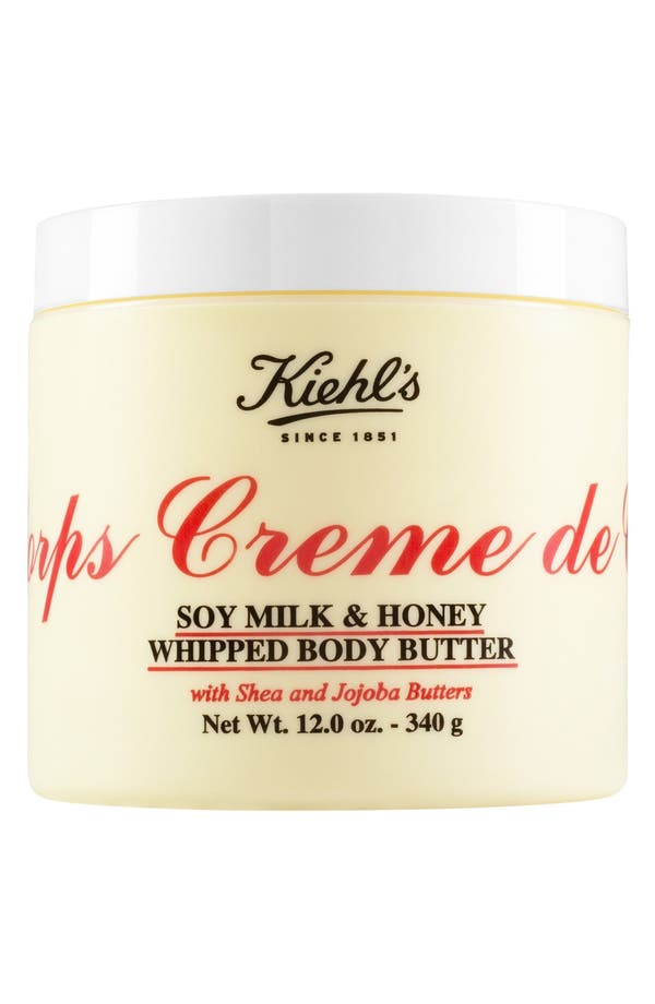 Alternate Image 2  - Kiehl's Since 1851 'Creme de Corps' Soy Milk & Honey Whipped Body Butter