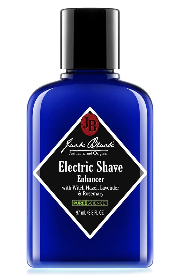 JACK BLACK Electric Shave Enhancer with Witch Hazel,
