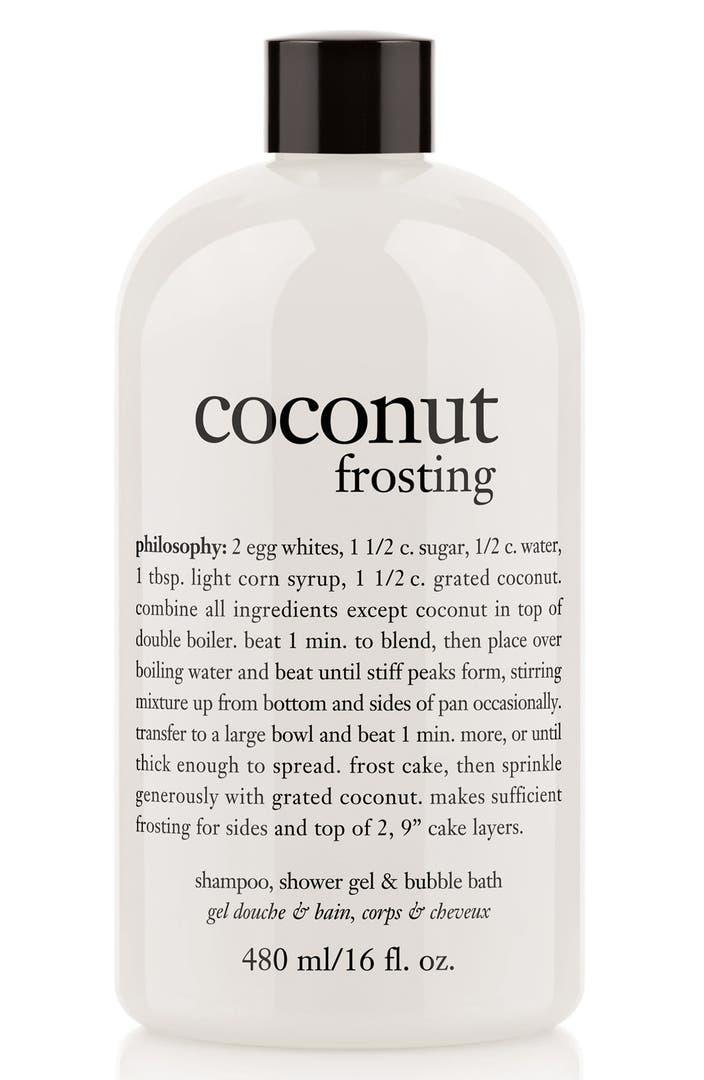 Philosophy Coconut Frosting Shampoo Shower Gel Amp Bubble