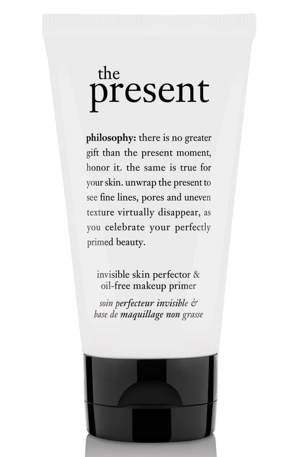 Main Image - philosophy 'the present' skin perfector & oil-free makeup primer