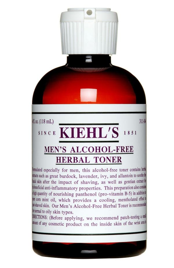 Main Image - Kiehl's Since 1851 Men's Alcohol-Free Herbal Toner