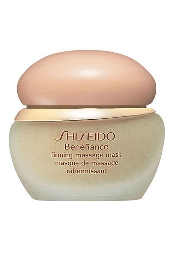 Main Image - Shiseido 'Benefiance' Firming Massage Mask