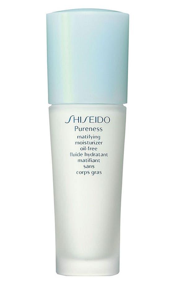 Main Image - Shiseido 'Pureness' Oil-Free Matifying Moisturizer