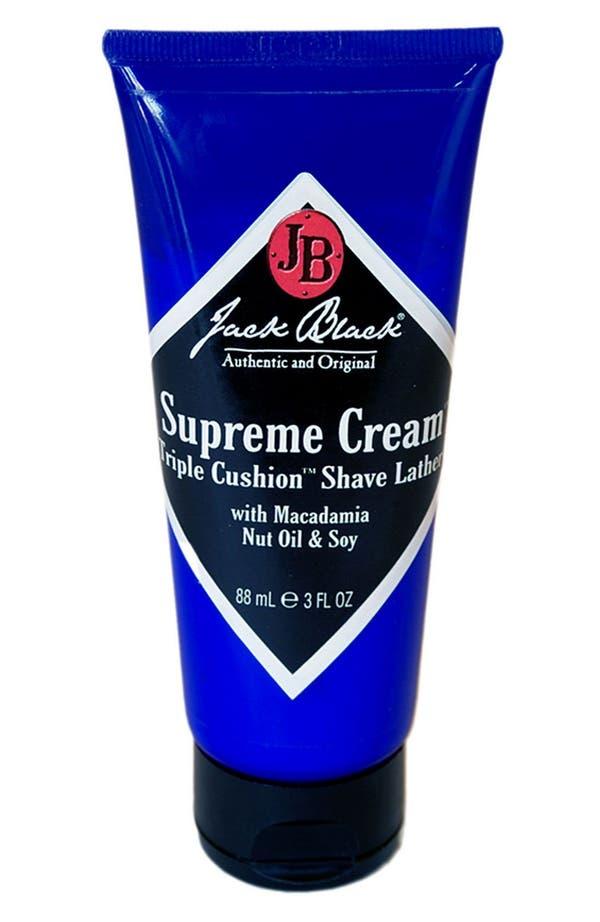 Alternate Image 1 Selected - Jack Black 'Supreme Cream™' Triple Cushion™ Shave Lather (Travel Size)