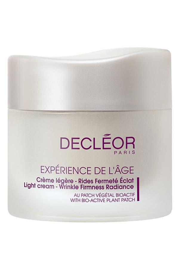 Alternate Image 1 Selected - Decléor 'Expérience de l'Âge' Light Cream - Wrinkle Firmness Radiance