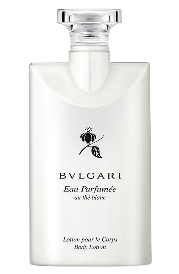 Alternate Image 1 Selected - BVLGARI 'Eau Parfumée au thé blanc' Body Lotion