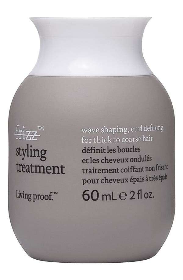 Alternate Image 2  - Living proof® 'No Frizz' Styling Treatment - Wave Shaping, Curl Defining for Thick to Coarse Hair
