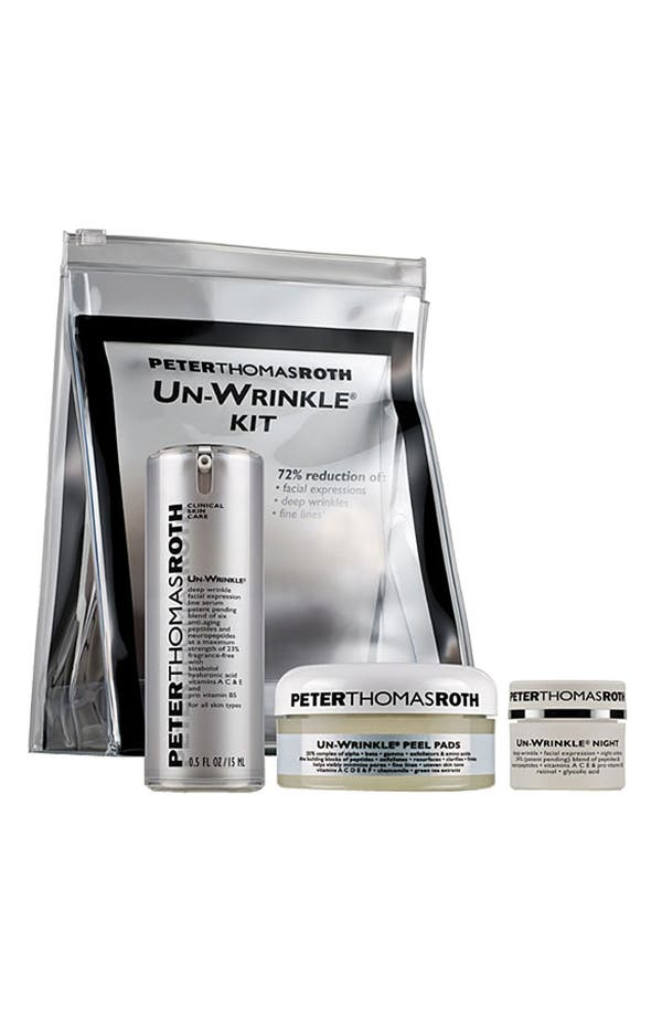 Alternate Image 1 Selected - Peter Thomas Roth 'Un-Wrinkle®' Kit ($138 Value)
