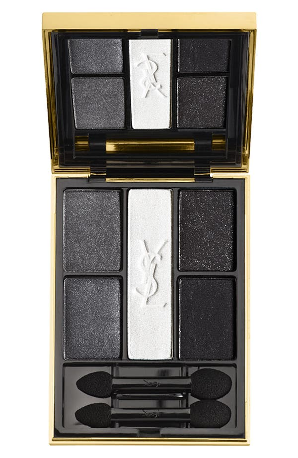 Main Image - Yves Saint Laurent 'Terriblement Noir' 5-Color Eyeshadow Palette