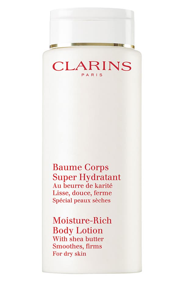 Alternate Image 1 Selected - Clarins Jumbo 'Moisture Rich' Body Lotion ($82 Value)
