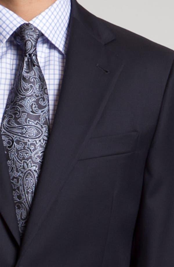 Alternate Image 6  - Joseph Abboud 'Signature Silver' Navy Wool Suit