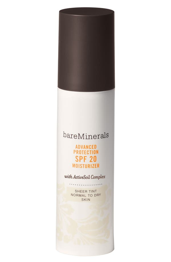 Alternate Image 1 Selected - bareMinerals® 'Advanced Protection Normal/Dry' Tinted Moisturizer SPF 20