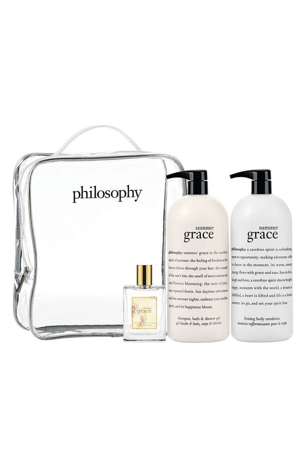 Main Image - philosophy jumbo 'summer grace' set (Nordstrom Exclusive) ($154 Value)