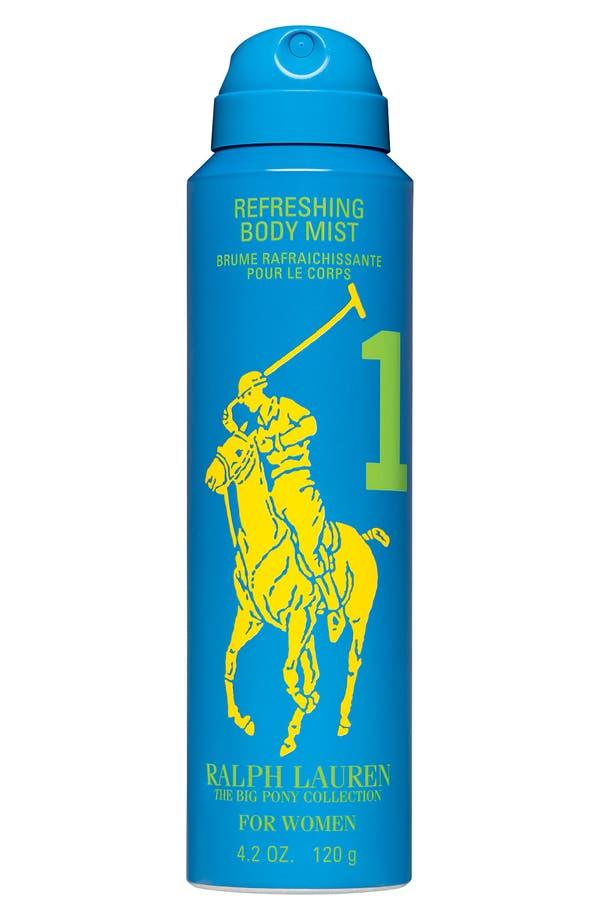 Alternate Image 1 Selected - Ralph Lauren 'Big Pony #1 - Blue' For Her Refreshing Body Mist