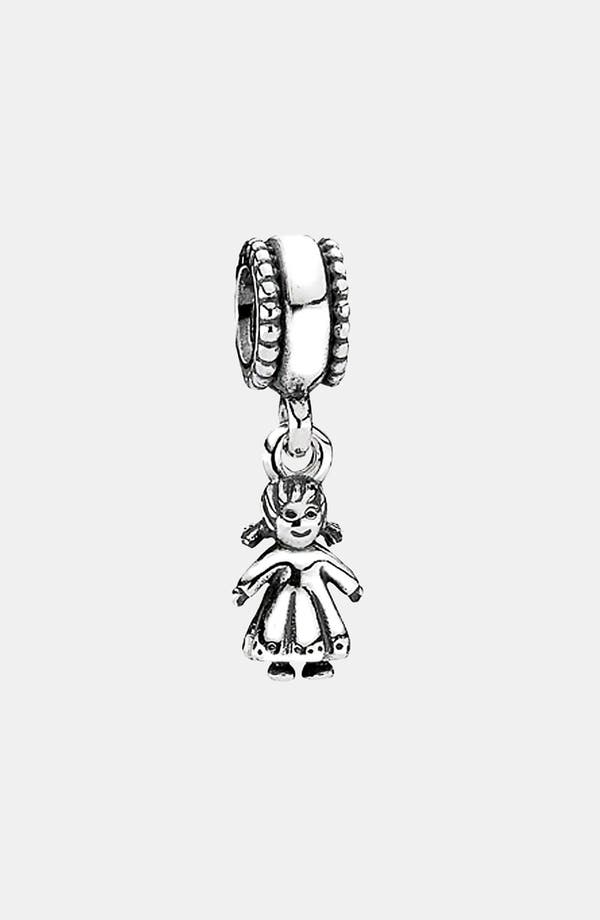 Alternate Image 1 Selected - PANDORA 'Girl' Dangle Charm