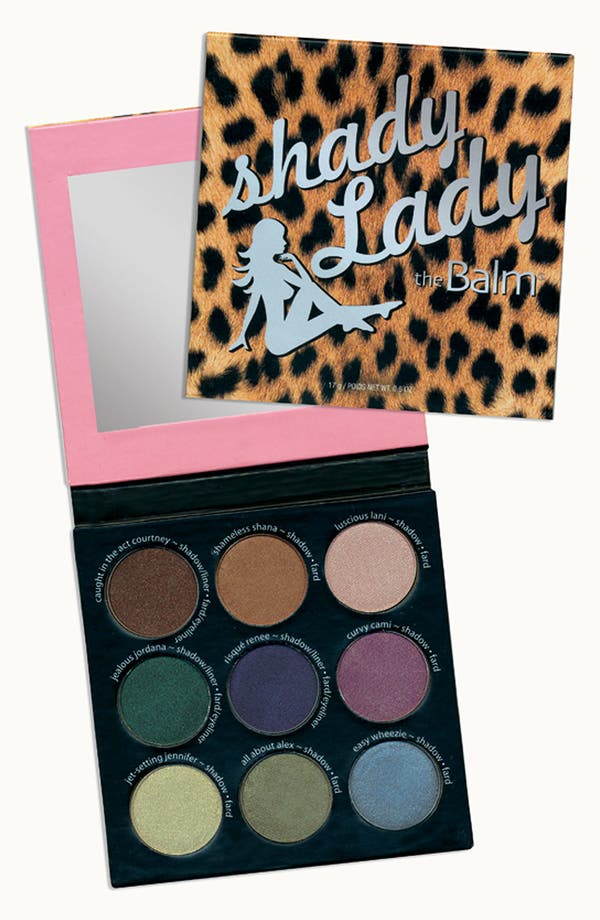 Main Image - theBalm® 'shadyLady®' Eye Color Palette #1