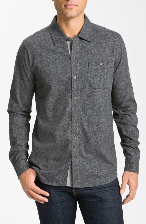 Main Image - Hickey Freeman Knit Cotton Sport Shirt