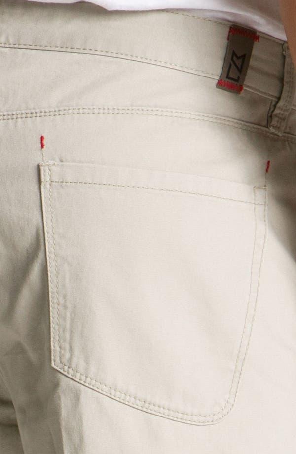 Alternate Image 3  - Cutter & Buck 'Pike' Five-Pocket Pants (Big & Tall)