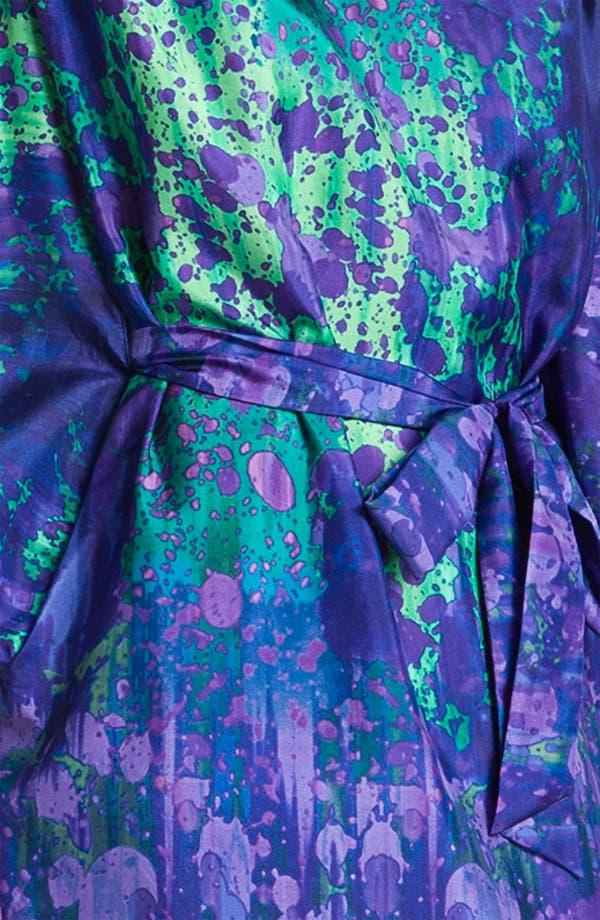 Alternate Image 3  - Suzi Chin for Maggy Boutique Blouson Silk Charmeuse Dress