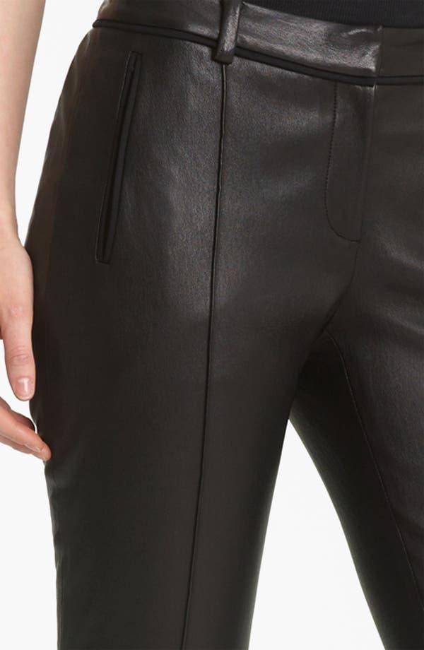 Alternate Image 3  - Jason Wu Stovepipe Leather Pants