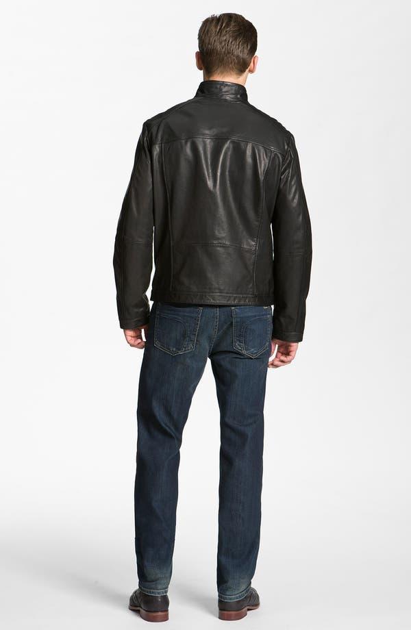 Alternate Image 5  - BOSS Black 'Adillon' Leather Jacket