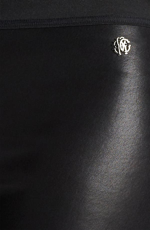Alternate Image 3  - Roberto Cavalli Leather Leggings