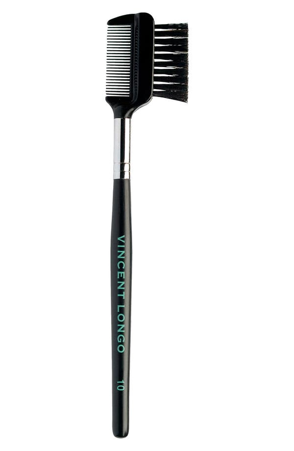 Main Image - Vincent Longo Brow Brush & Eyelash Comb #10