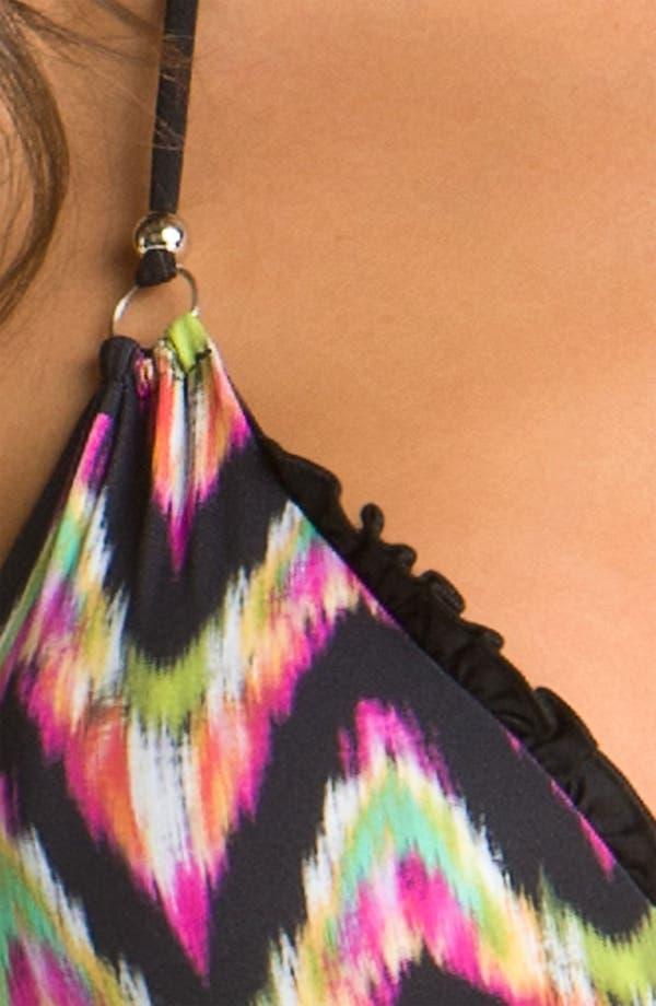 Alternate Image 3  - Vitamin A Silver 'Rio' Reversible Halter Bikini Top