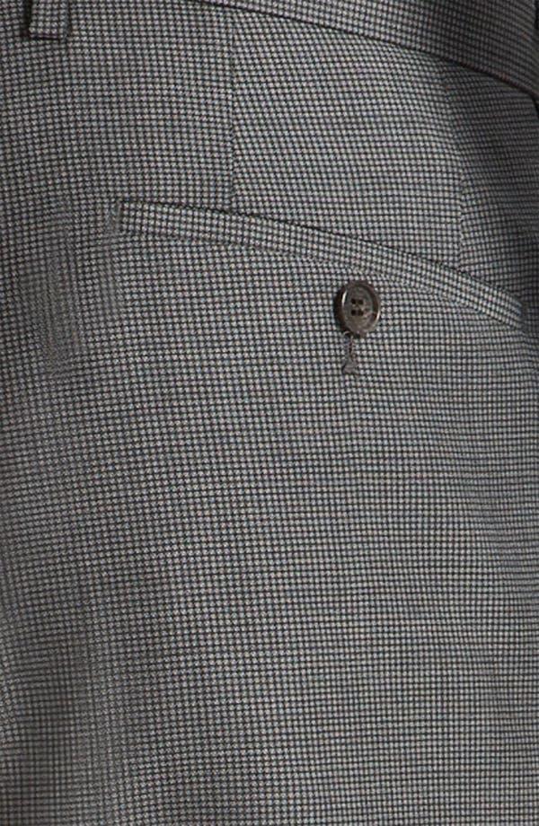 Alternate Image 5  - BOSS Black 'James/Sharp' Trim Fit Neat Check Suit