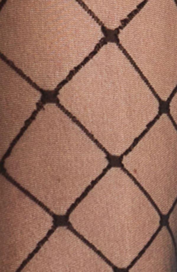 Alternate Image 2  - Nordstrom Faux Stringer Pantyhose