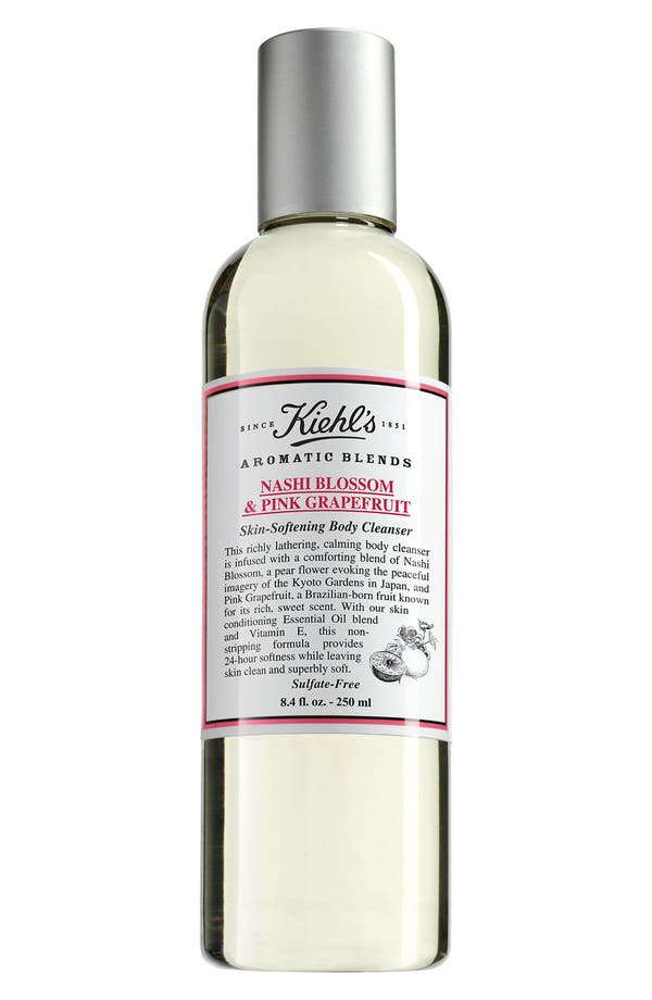 Alternate Image 1 Selected - Kiehl's Since 1851 'Aromatic Blends - Nashi Blossom & Pink Grapefruit' Skin Softening Body Cleanser