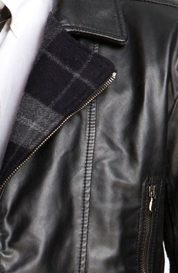 Alternate Image 3  - Edun Leather Moto Jacket