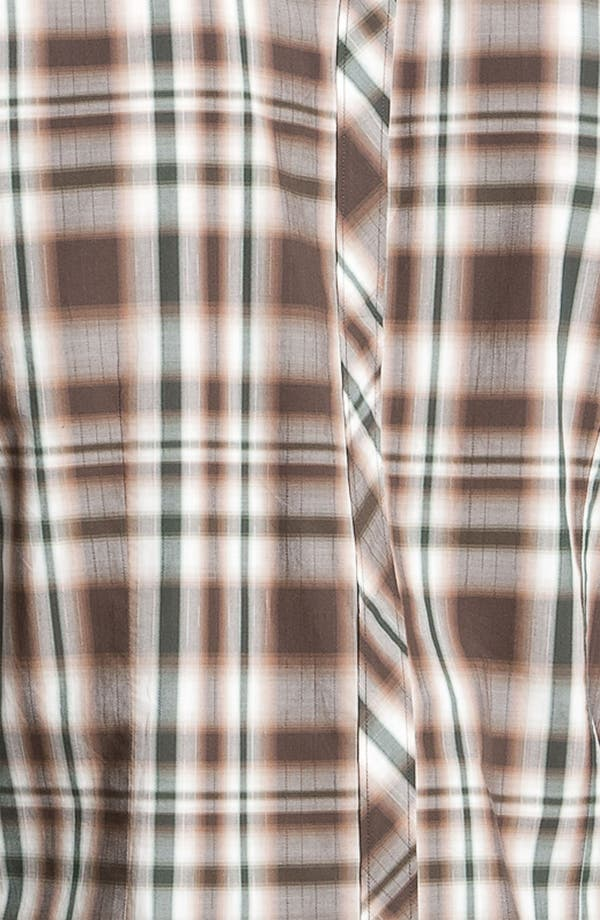 Alternate Image 3  - 7 Diamonds Plaid Woven Shirt