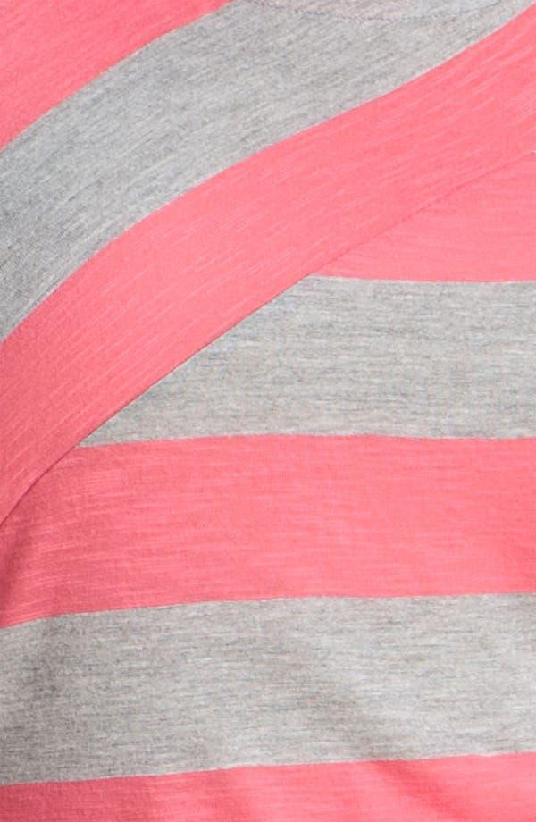 Alternate Image 3  - Olivia Moon Stripe Tee (Plus)