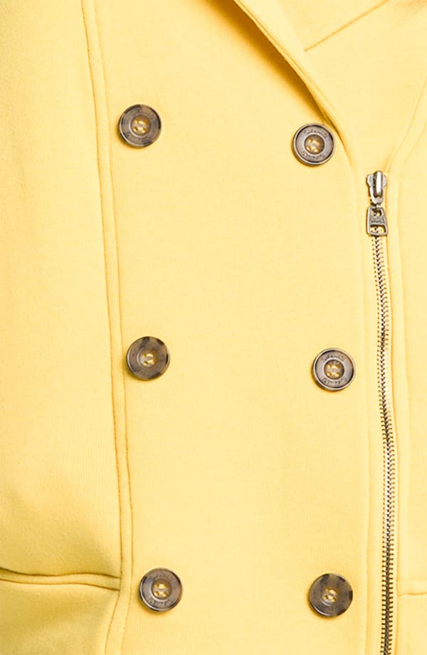 Alternate Image 3  - Splendid Double Breasted Biker Jacket