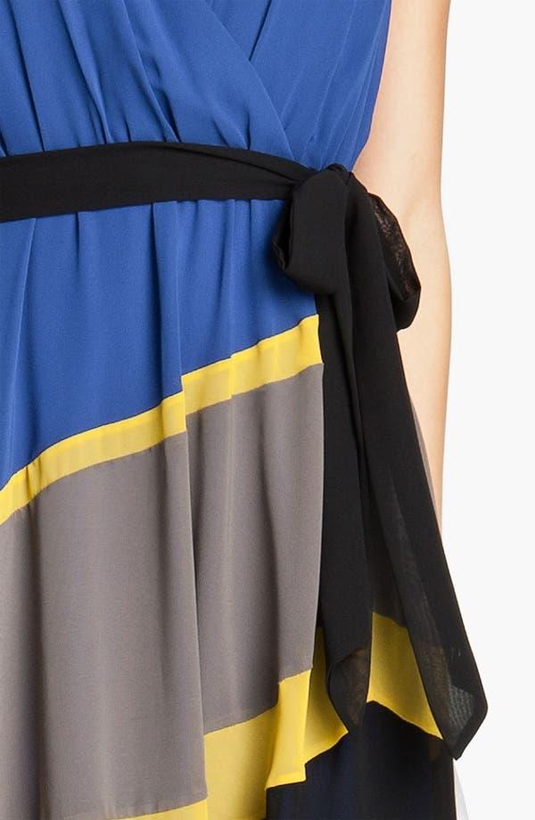 Alternate Image 3  - Max & Cleo 'Jamie' Colorblock Chiffon Dress