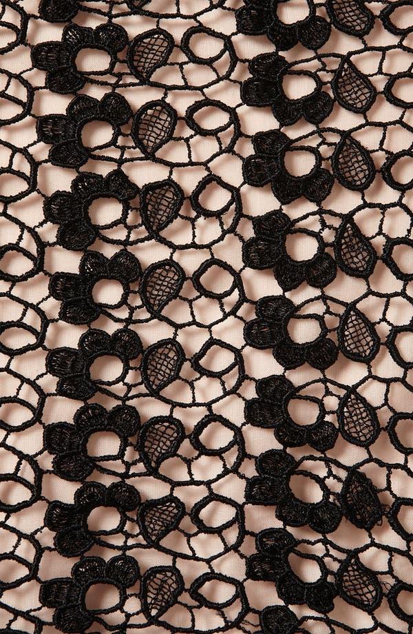 Alternate Image 3  - Topshop Lace Skater Dress