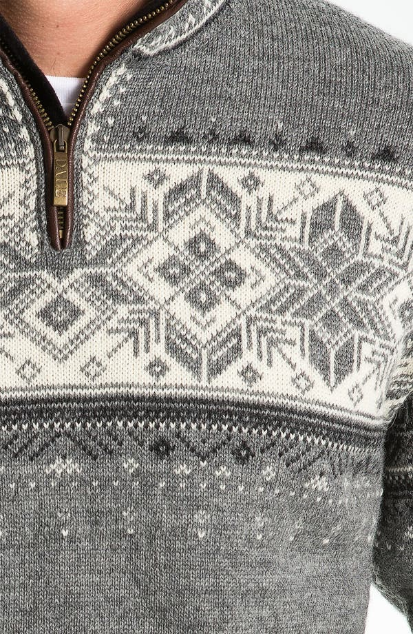 Alternate Image 3  - Dale of Norway 'Blyfjell' Quarter Zip Wool Sweater