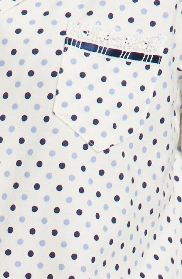 Alternate Image 3  - Eileen West 'Charm' Pajamas