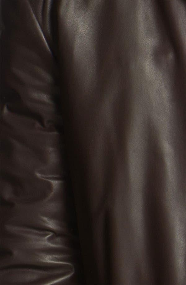 Alternate Image 3  - Canali Leather Coat