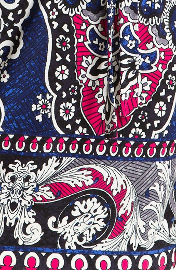 Alternate Image 3  - Donna Morgan Printed Bateau Neck Jersey Shift Dress