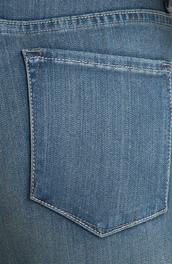 Alternate Image 3  - NYDJ Straight Leg Stretch Jeans (Petite)