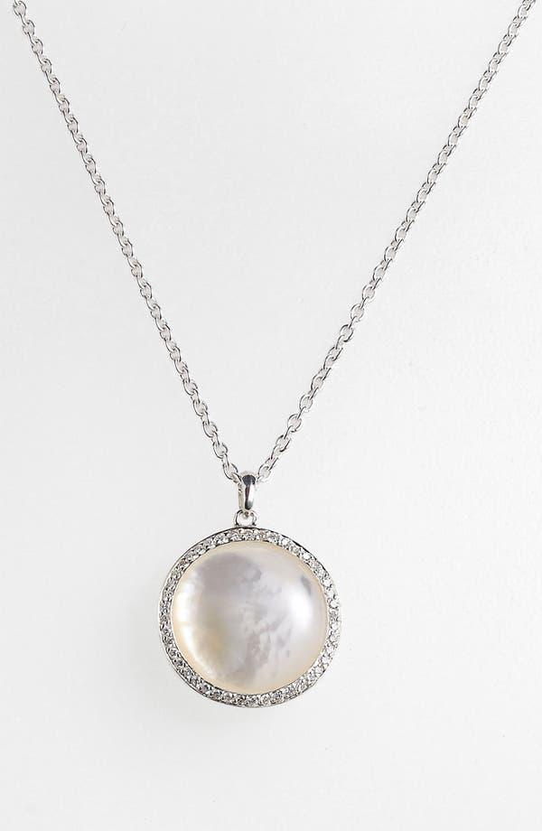 Alternate Image 2  - Ippolita 'Scultura' Medium Circle Pendant Necklace