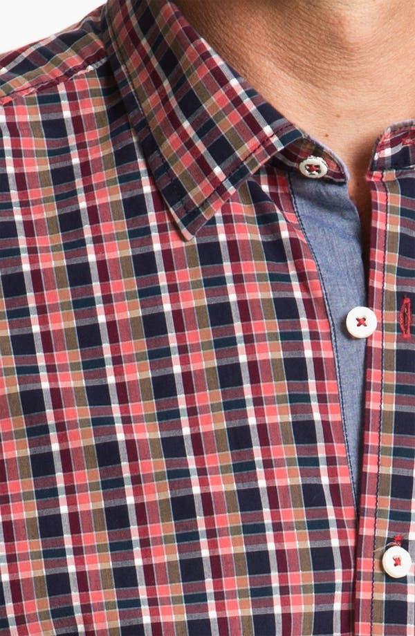 Alternate Image 3  - Tommy Bahama Denim 'Bao Down Plaid' Sport Shirt